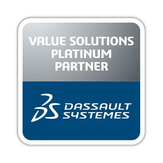 Logo Dassault Systèmes Business Partner Platinum